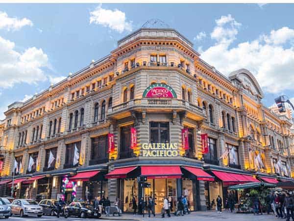 Galerias Pacifico Buenos Aires - Ver Buenos Aires haciendo turismo - Ilutravel.com