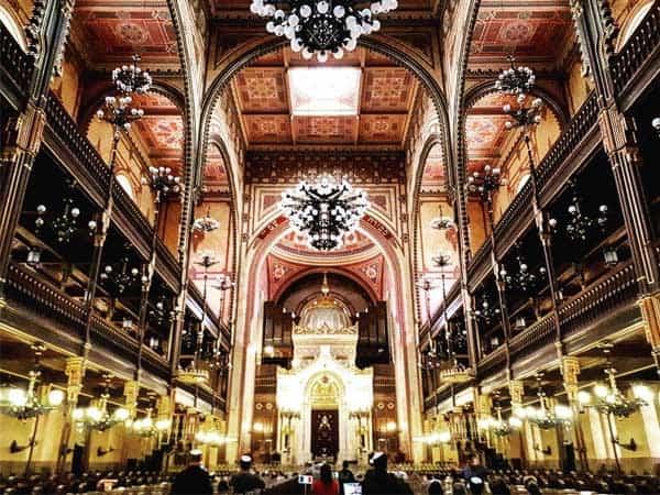 Gran Sinagoga de Budapest - Qué ver en Budapest haciendo turismo - Ilutravel.com