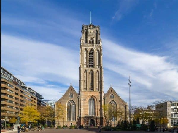 Grote of Sint-Laurenskerk de Rotterdam - Que visitar en un día por Rotterdam - Ilutravel.com