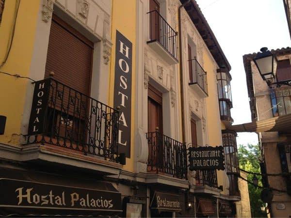 Hostal Palacios Toledo donde alojarse