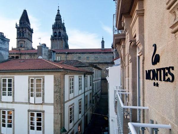 Hotel Montes Santiago Alojamiento