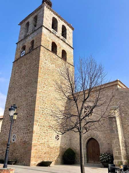 Iglesia Nuestra Señora De Las Nieves Manzanares el Real - Turismo de un día por MAnzanares el Real - Ilutravel.com