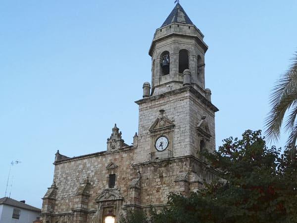 Iglesia San Juan Evangelista Mancha Real - Ver Mancha Real todo lo que hacer - Ilutravel.com