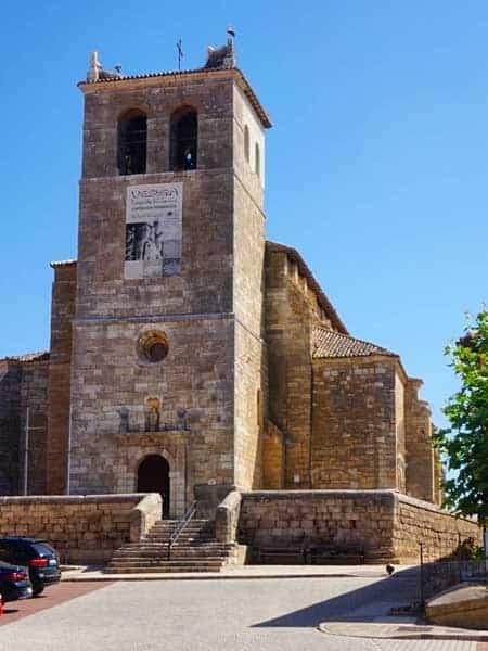 Iglesia Santa MAria del Castillo Vestigia Fromista - Qué visitar en Fromista de turismo - Ilutravel.com