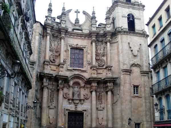 Iglesia de Santa Eufemia de Orense - Lugares de interés turístico de Ourense - Ilutravel.com
