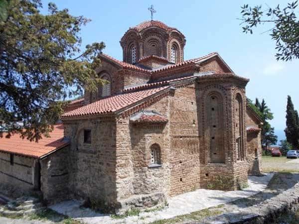 Iglesia de Santa María de Peribleptos ohrid - Turismo en Ohrid de Macedonia - Ilutravel.com