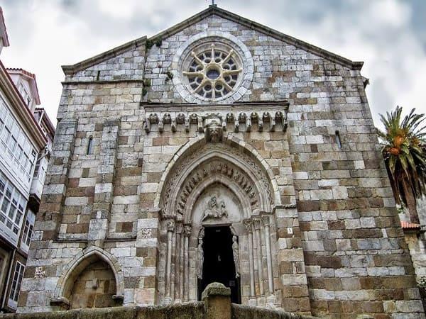 Iglesia de Santiago de A Coruña - Qué ver en A Coruña un día - Ilutravel.com