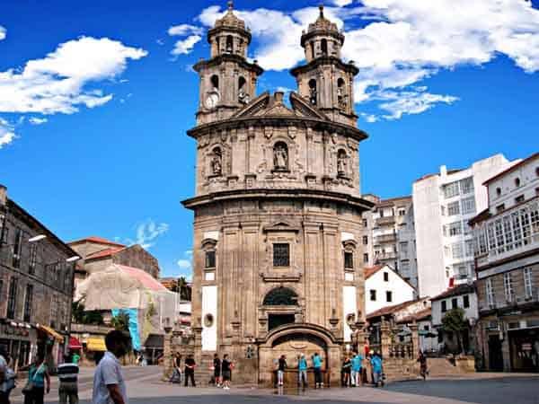 Iglesia de la Peregrina de Pontevedra - Visitar Pontevedra de turismo en un día - Ilutravel.com