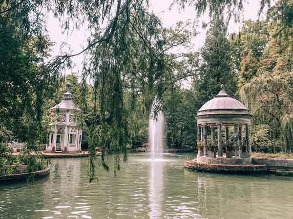 Foto superior del Jardín del Principe, sitios qué visitar de turismo en Aranjuez para un día - Ilutravel.com