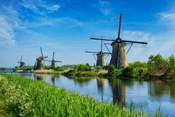 Kinderdijk molinos de Rotterdam - Ver Rotterdam de Turismo - Ilutravel.com