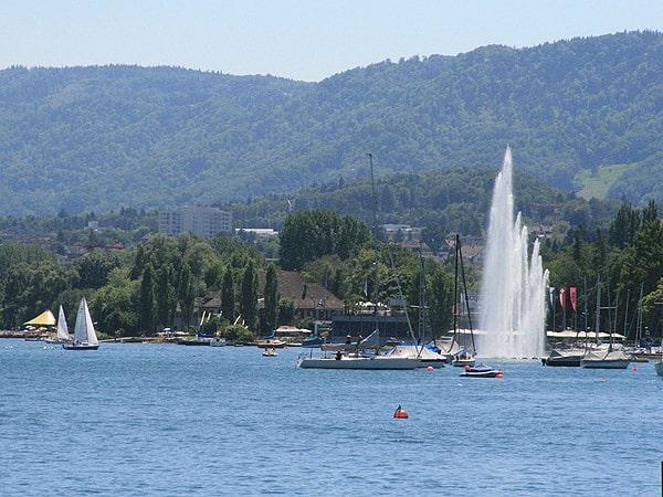 Lago Zurich - Que ver en Zurich de turismo - Ilutravel.com