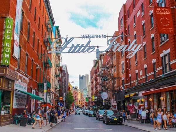 Little Italy - Sitios de interés de Nueva York para viajes - Ilutravel.com