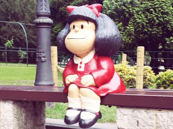Mafalda Oviedo en Campo de San Francisco - Oviedo en un día - Ilutravel.com