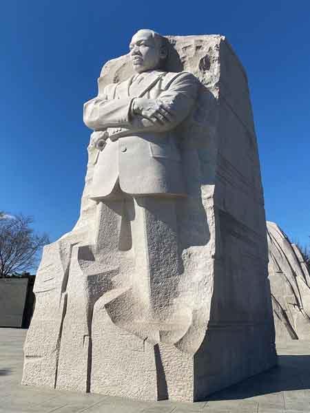 Martin Luther King Monumento - Visitar Washington en 2 días - Ilutravel.com