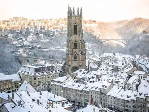 Miniatura Friburgo Suiza - De viaje por Friburgo, sitios de interés - Ilutravel.com