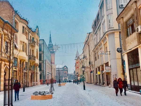 Miniatura Subotica foto de la ciudad - Sitios que ver en Subotica de turismo - Ilutravel.com