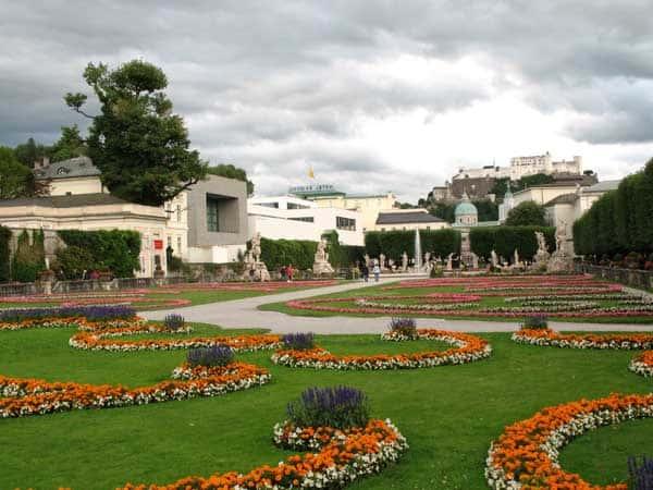 Mirabellgarten Salzburgo - Ver Salzburgo en un día - Ilutravel.com