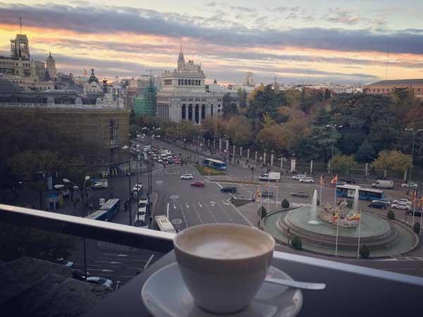 Mirador de Cibeles - Mejores Miradores de Madrid Capital - Ilutravel.com