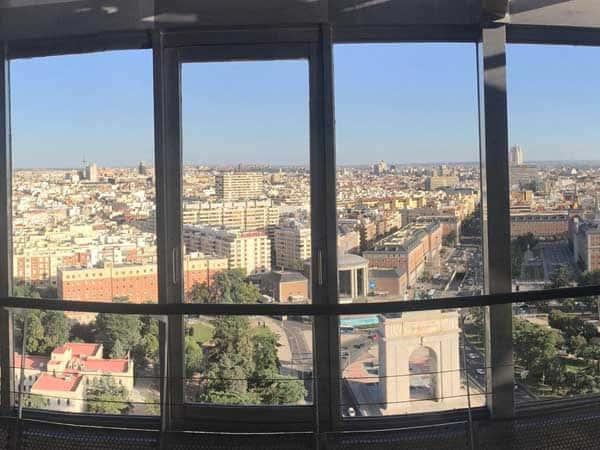 Mirador Faro Moncloa de Madrid - Mejores miradores de Madrid que visitar - Ilutravel.com