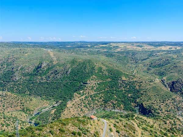 Mirador de las Janas en Saucelle - Sitios de interés que visitar Arribes del Duero y Águeda - Ilutravel.com