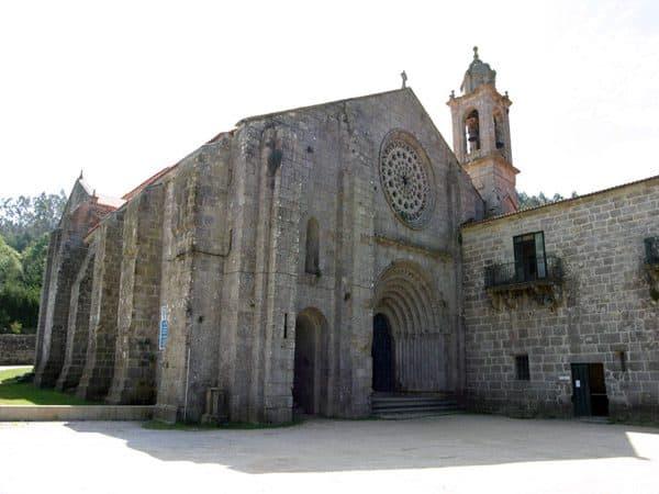 Monasteiro de Santa María de Armenteira Sanxenxo - Que ver en Sanxenxo - Ilutravel.com