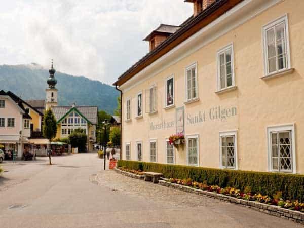 Mozarts Wohnhaus salzburgo - Ver Salzburgo en un día - Ilutravel.com