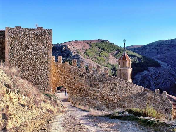 Murallas Albarracin - Visitar de turismo Albarracín - Ilutravel.com