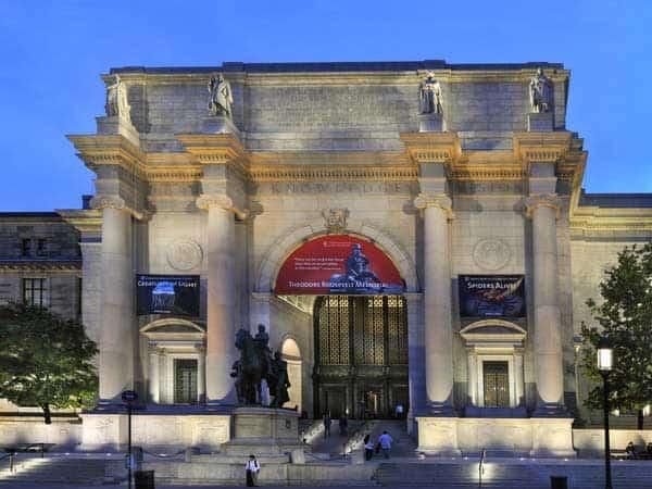 MuseoAmericano de Historia Natural - Lugares de interés que ver en Nueva York - Ilutravel.com