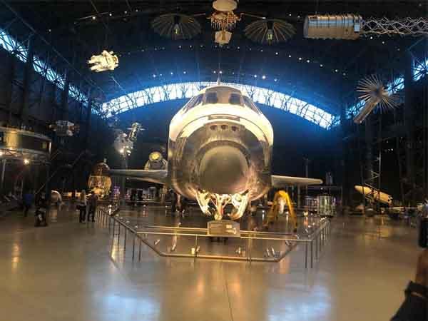 Museo Nacional Aire Espacio de Washington - Washington en 2 días de turismo - Ilutravel.com
