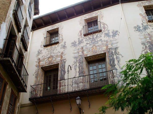 Palacio Marqués de Huarte de Tudela - Sitios que ver en Tudela - Ilutravel.com