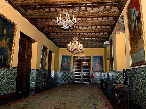 Palacio Torre Tagle lima - Turismo por Lima - Ilutravel.com