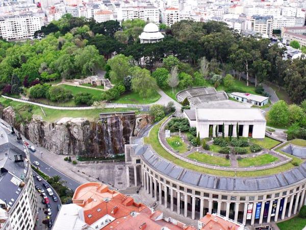 Parque de Santa Margarita de A Coruña - Lugares que ver en A Coruña - Ilutravel.com