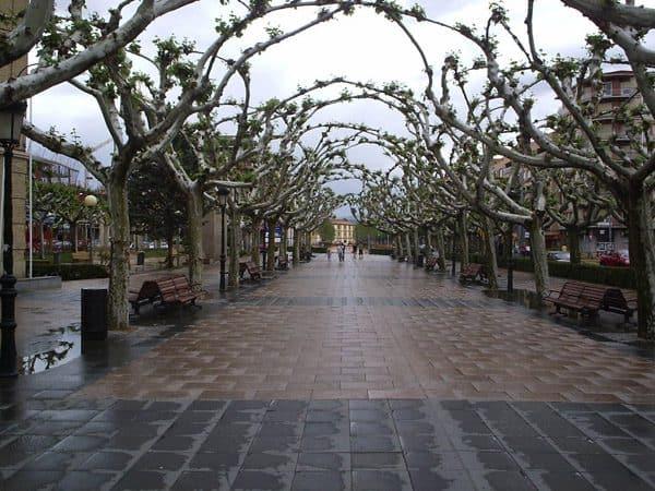 Paseo Cortes de Aragón de Calatayud - Que ver en Calatayud - Ilutravel.com