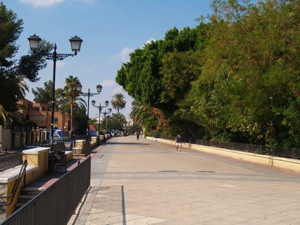 Paseo del Malecón de Murcia - Para ver y visitar - Ilutravel.com