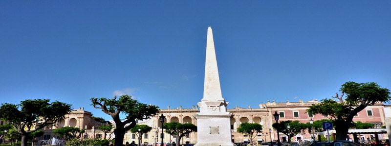 Plaça des Borns de Ciudadela de Menorca