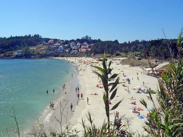 Playa Canelas de Sanxenxo, que hacer en Sanxenxo - Ilutravel.com