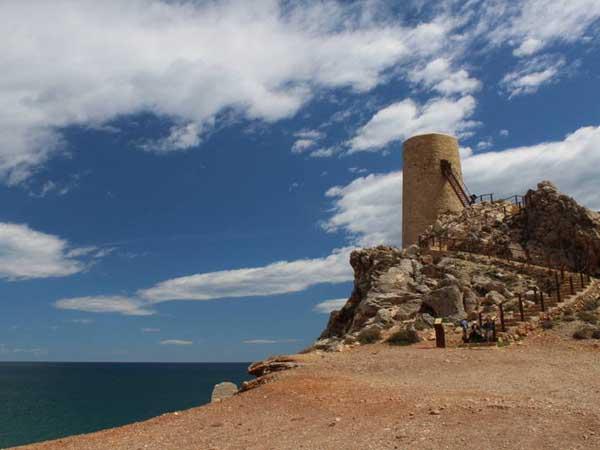 Playa Castillo Mojacar - Turismo por Mojácar sitios para ver - Ilutravel.com