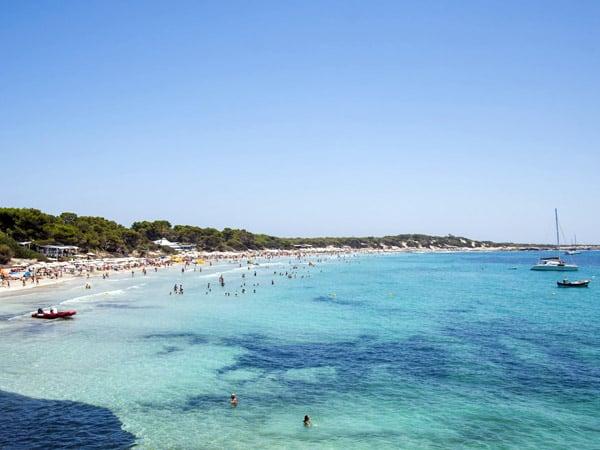 Playa Las Salinas de Ibiza - Todos los sitios que visitar en Ibiza - Ilutravel.com