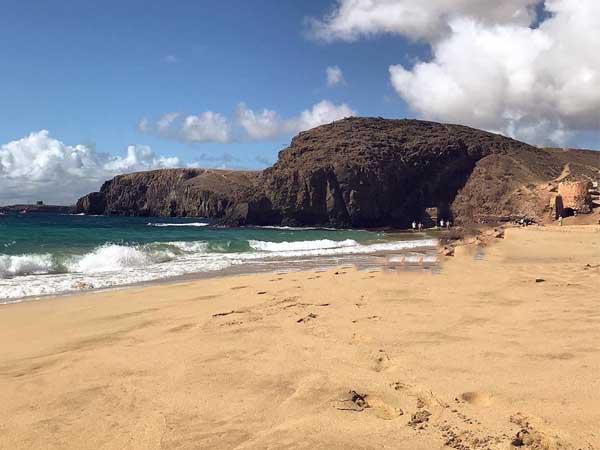 Playa Mujeres Lanzarote, lugares de interés en 4 días de LAnzarote - Ilutravel.com
