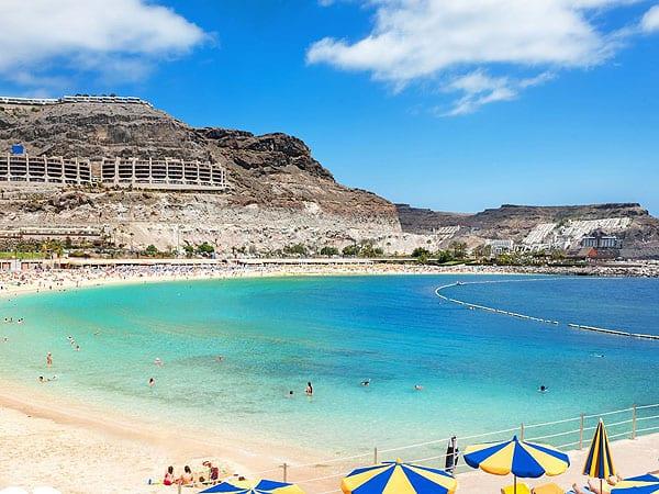 Playa de Amadores de Gran Canaria - 6 días de turismo en Gran Canaria - Ilutravel.com