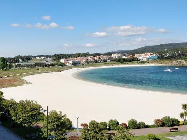 Playa de Baltar Sanxenxo - de turismo en Sanxenxo - Ilutravel.com