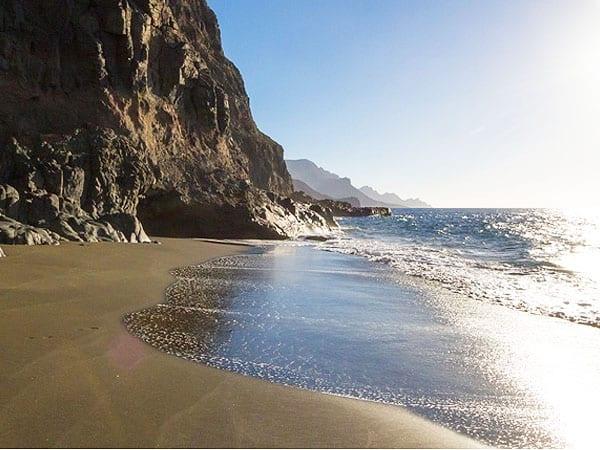Playa de Guayedra de Gran Canaria - Visitar Gran Canaria ruta para 6 días - Ilutravel.com