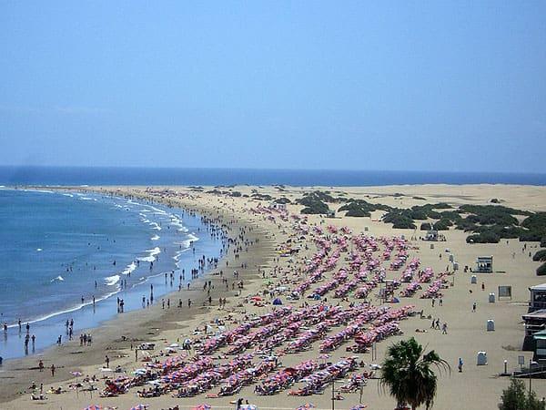 Playa del Ingles Gran Canaria - Ver Gran Canaria 6 días - Ilutravel.com