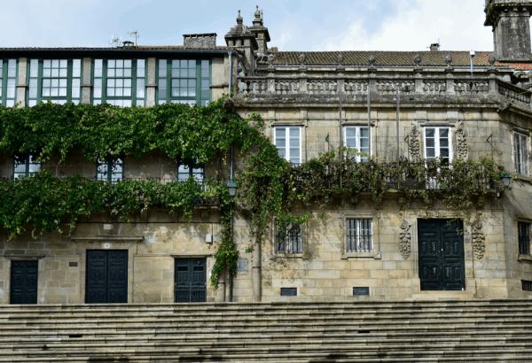 Plaza Quintana de Santiago de Compostela - Ilutravel.com lugar que ver
