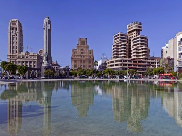 Plaza de España de Santa Cruz