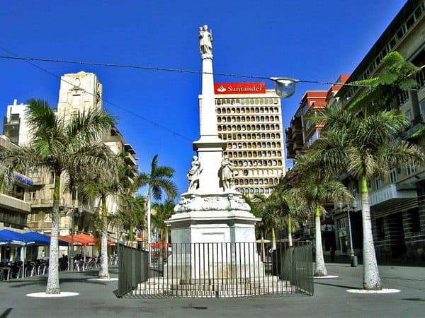 Plaza de la Candelaria de Tenerife lugar que visitar