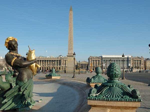 Plaza de la Concordia Paris - Ver París de turismo 3 días- Ilutravel.com