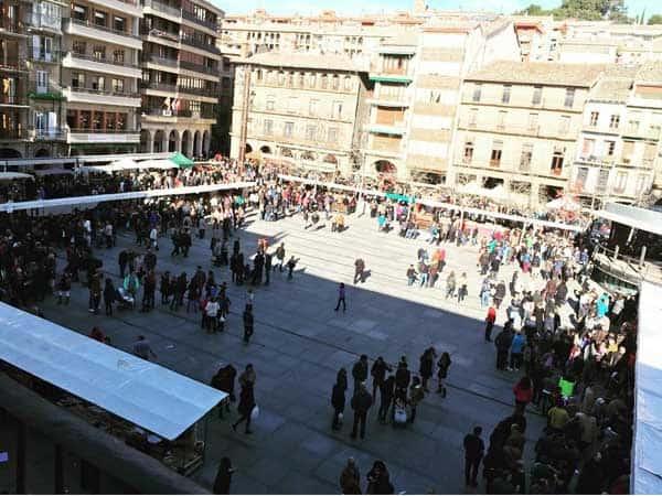 Plaza de los Fueros Estella - Sitios de interés para visitar en Estella - Ilutravel.com