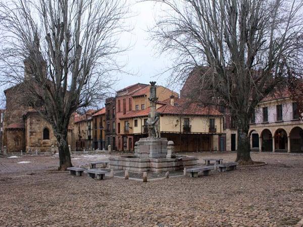 Plaza del Grano de León - Visitar León de viaje - ilutravel.com