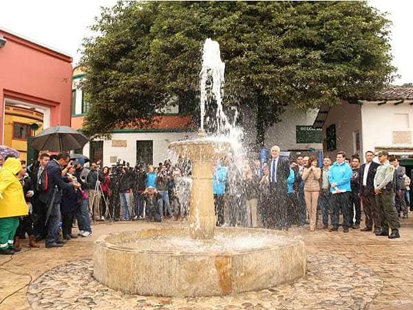 Plazoleta del Chorro Bogota - Ver Bogotá todo lo que visitar de viaje - Ilutravel.com